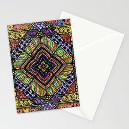 Family Mandala - מנדלה משפחה Stationery Cards