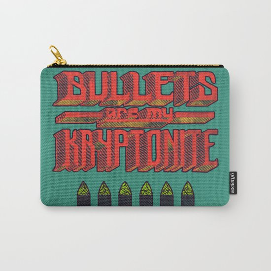 Kryptonite (alternate) Carry-All Pouch