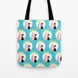 va-CAT-ions_Pattern Tote Bag