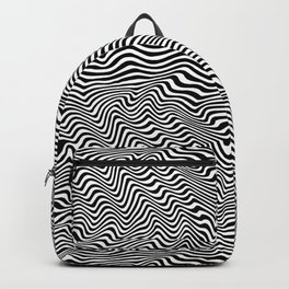 Op Art Stripes Backpack