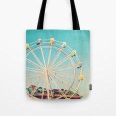 Boardwalk Ferris Wheel Tote Bag
