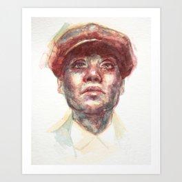 Cillian Murphy (Peaky Blinders) Art Print