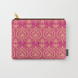 Simple Ogee Pink Carry-All Pouch