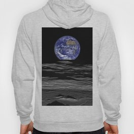 Earth from the moon Hoody