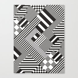 Tartan-Vichy trend Canvas Print