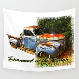 Diamond in the Rough Wall Tapestry