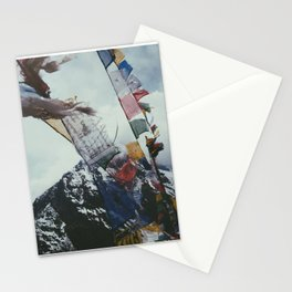 Nepales Mountains Photo Print Stationery Cards