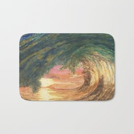 Breaking Wave Bath Mat