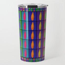 Petals in a Stripe Travel Mug