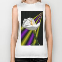 trumpet Biker Tanks featuring Trumpet Solo by SwanniePhotoArt