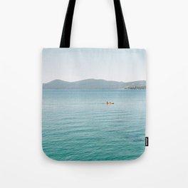 Summer Lake Day Tote Bag