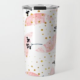Grapefruit Smoothie #society6 #decor #buyart Travel Mug