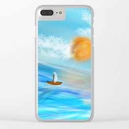 sunny's coming Clear iPhone Case