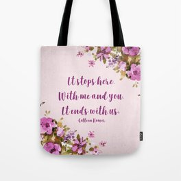 It Ends With Us Tote Bag