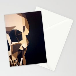 The chocolate skull Stationery Cards