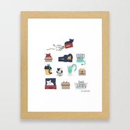 Contain Yourself Framed Art Print