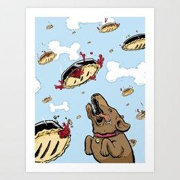 Pie in the Sky Art Print
