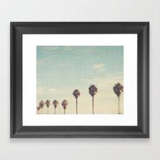 Palm Trees Los Angeles. Daydreamer No.2 Framed Art Print