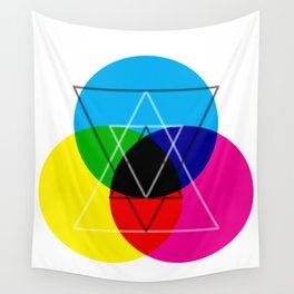 CMY  Wall Tapestry