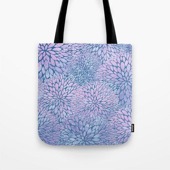 Frozen Petals Tote Bag