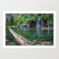 Hanging Lake Art Print