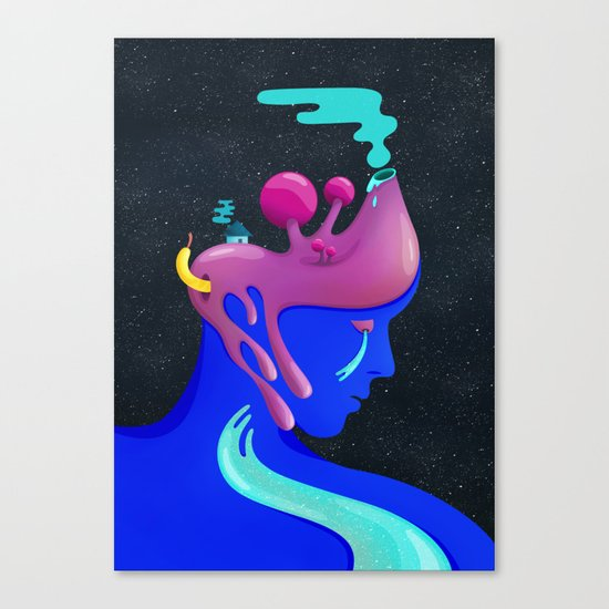 What's under my skin Canvas Print