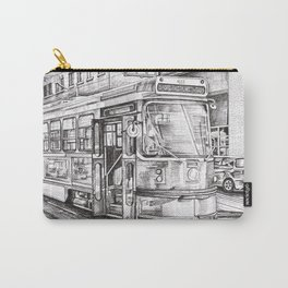 Spadina King (black and white) Carry-All Pouch