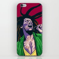 rasta iPhone & iPod Skins featuring Rasta by Kyu Shim