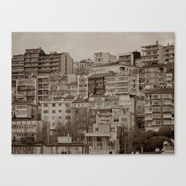 Apartment blocks (Istanbul, TURKEY) Canvas Print