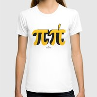 pi T-shirts featuring PI by bisualhart