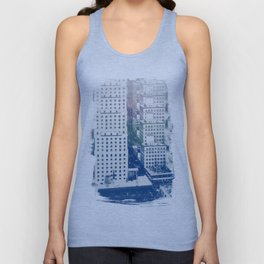Colorful San Francisco Unisex Tank Top