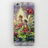 buddha iPhone & iPod Skins featuring Buddha  by Harsh Malik