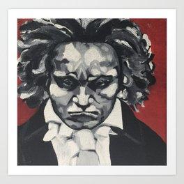 Beethoven, Ludwig v.  Art Print