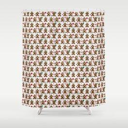 Gingerbread Men Shower Curtain