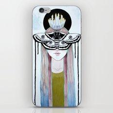 moth queen iPhone & iPod Skin