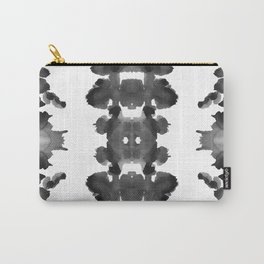 Black Ink Blots Carry-All Pouch