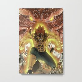 Naruto.Anime Metal Print