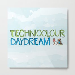 Technicolour Daydream Metal Print