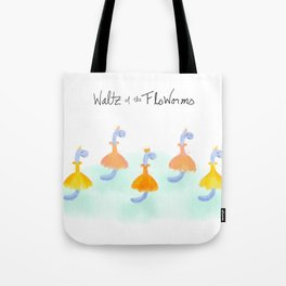 Waltz of the FloWorms Tote Bag