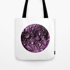purple rain drops XXIV Tote Bag