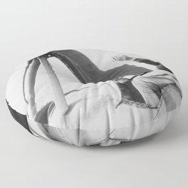 Amelia Earhart Floor Pillow