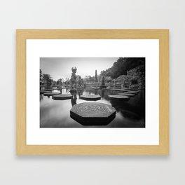 Water Temple Framed Art Print