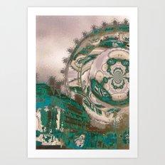 The London Portal Art Print