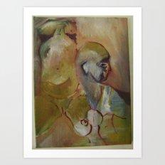 study of women Art Print