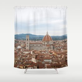 Dream of the Duomo Shower Curtain