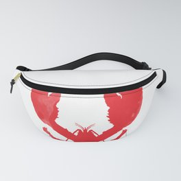 Watercolor Lobster Fanny Pack