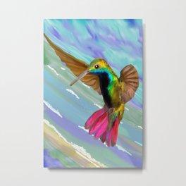 Tropical Flight - Exotic Bird Metal Print