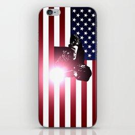 Welder: American Flag iPhone Skin