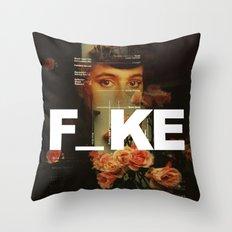 F_ke Throw Pillow