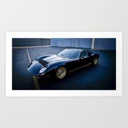1971 Lamborghini Miura  Art Print